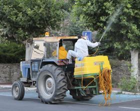 Inicio campaña de limpieza y control de plagas